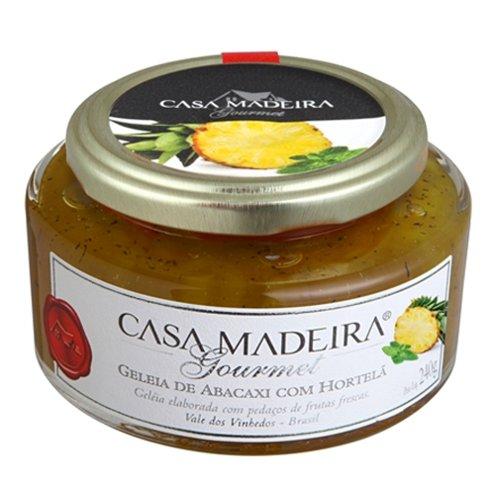 Geleia Gourmet Abacaxi com Hortelã Casa Madeira 240g