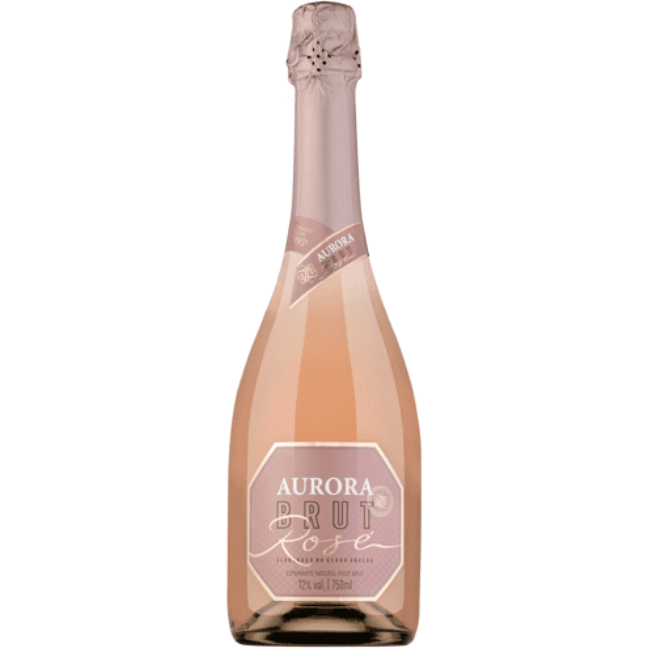 Espumante Brut Rosé Aurora 750ml