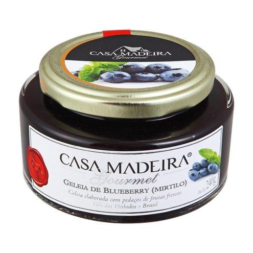 Geleia Gourmet de Mirtilo Casa Madeira 240g