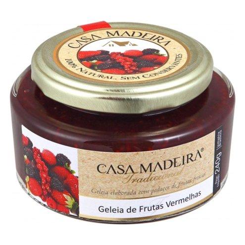 Geleia Tradicional de Frutas Vermelhas Casa Madeira 240g