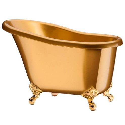 Champanheira Banheira Suprema - 4 Garrafas - Dourada