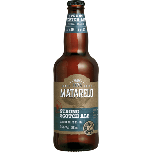 Cerveja Strong Scotch Ale Matarelo 500ml
