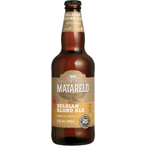 Cerveja Belgian Blond Ale Matarelo 500ml