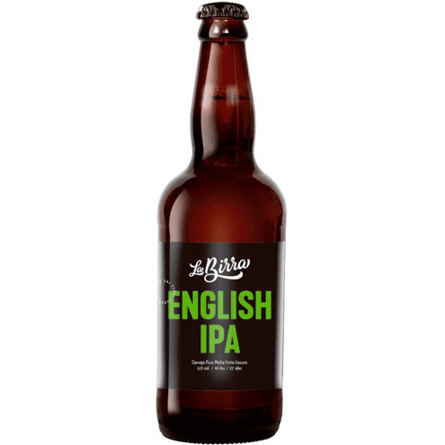 Cerveja English IPA La Birra 500ml