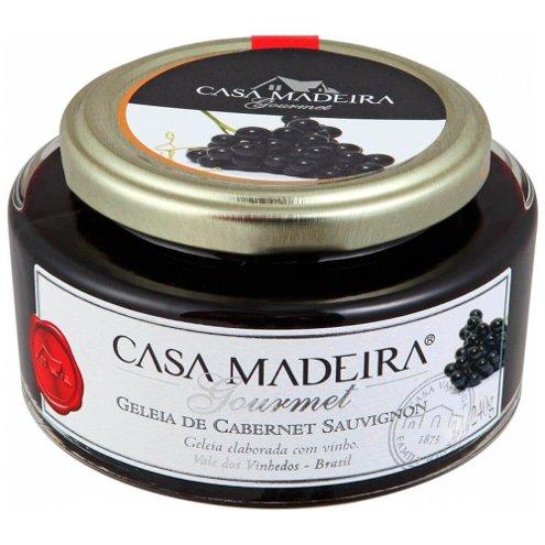 Geleia Gourmet Cabernet Sauvignon Casa Madeira 240g