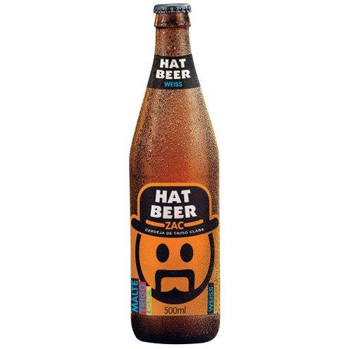 Cerveja Weiss Zac! Hat Beer 500ml