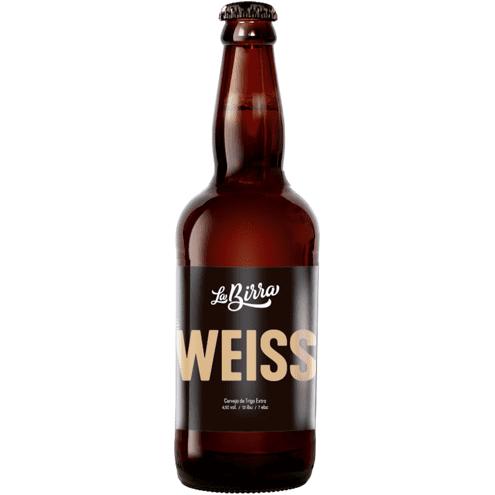 Cerveja Weiss La Birra 500ml