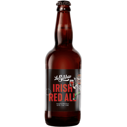 Cerveja Irish Red Ale La Birra 500ml