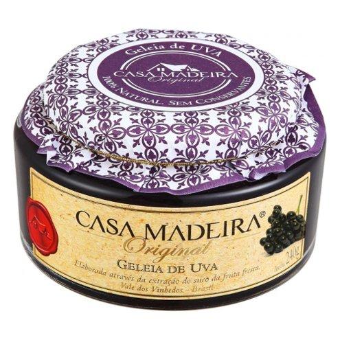 Geleia Original de Uva Casa Madeira 240g