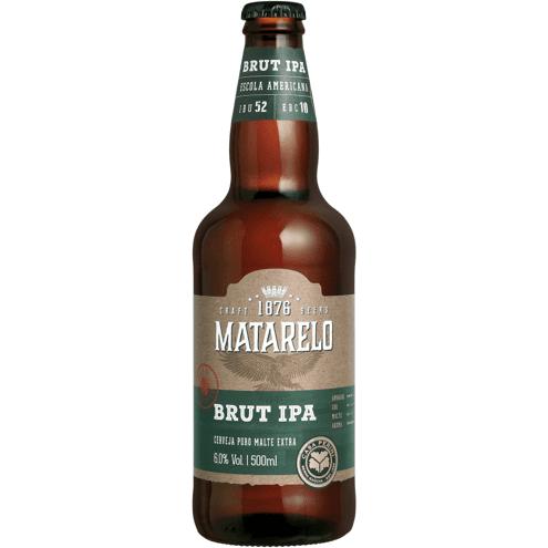 Cerveja Brut IPA Matarelo 500ml