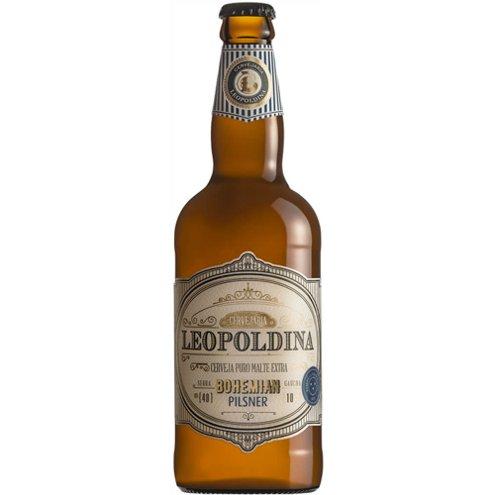 Cerveja Pilsner Bohemian Leopoldina 500ml