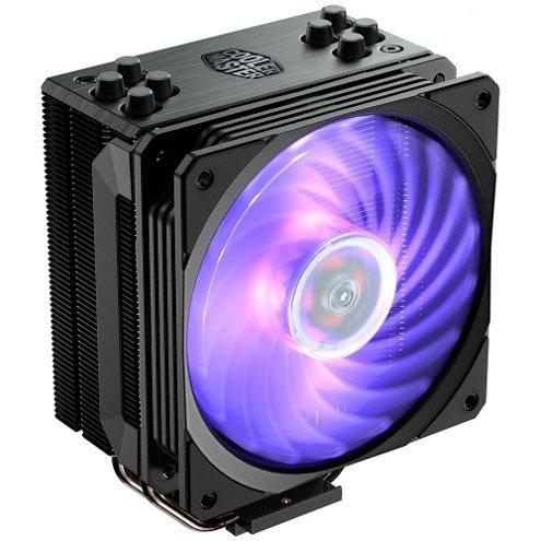 Cooler para Processador Cooler Master, Hyper 212, RGB, AMD/Intel, Black Edition, RR-212S-20PC-R1