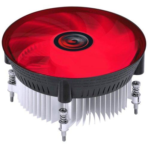 Cooler para Processador PCYes, Notus l300, Intel, Led Vermelho, PAC120PRLV