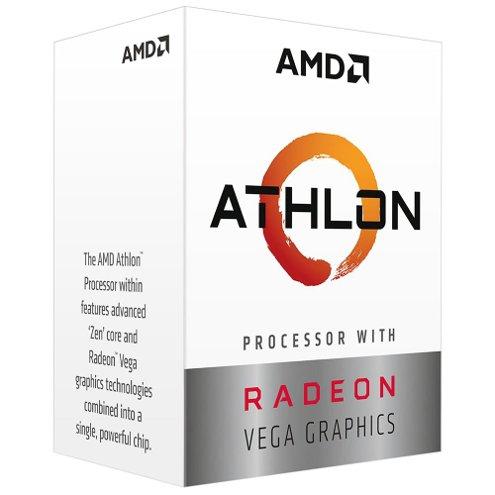 Processador AMD Athlon 3000G, 2 Core, 3500MHz, AM4, AMD, C/Cooler