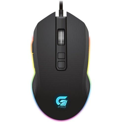 Mouse Fortrek, M3, 4800 DPI, RGB, USB