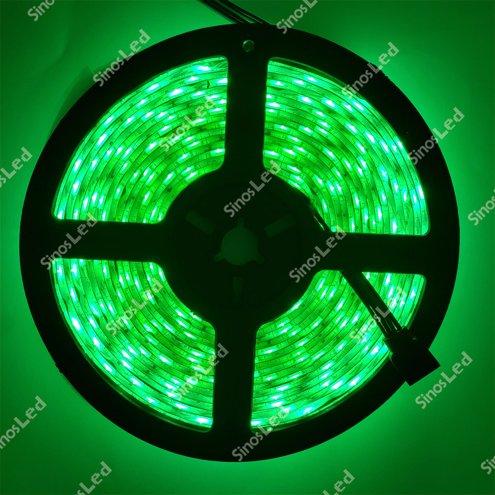 FITA LED VERDE 36W 5050 IP65 5 METROS COM FONTE