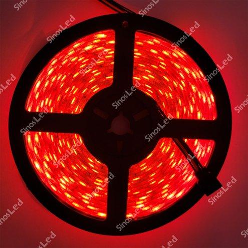 FITA LED VERMELHA 36W 5050 IP65 5 METROS COM FONTE