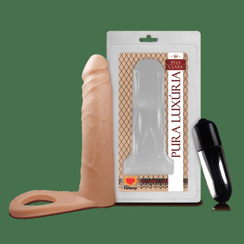 Anel Companheiro com Vibrador e Pênis...