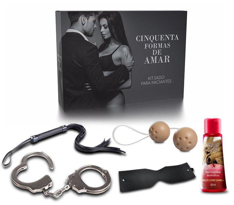 Kit Cinquenta Formas de Amar Adão e Eva